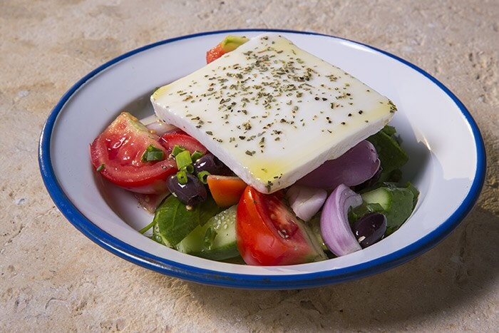 Horyatiki - Greek vegetable salad