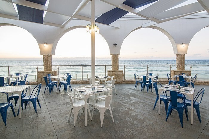 Greek style restaurant in Netanya