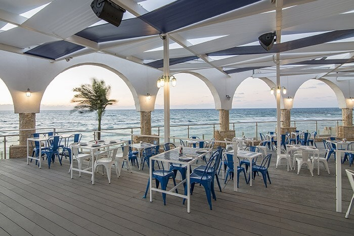 Beach Restaurant in Netanya